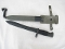 CETME rifle bayonet in excellent-nearly new condition